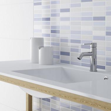 Azulejo baño blancos
