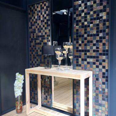Azulejos Mosaico 5x5 Iron
