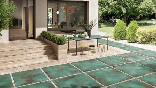 azulejos imitacion piedra de color