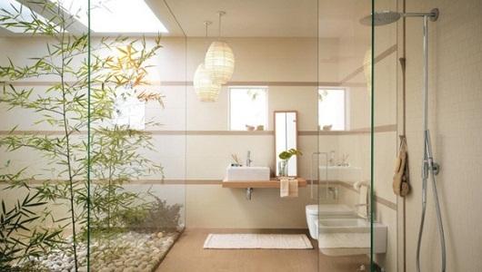 Ducha baño minimalista
