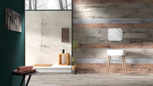 Baldosas imitacion madera de estilo moderno