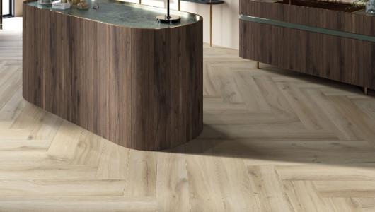 Revestimientos madera en empresa