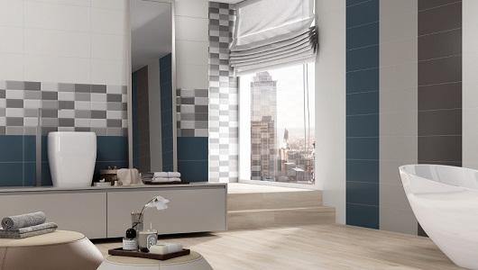 Azulejos de estilo masculino para baño