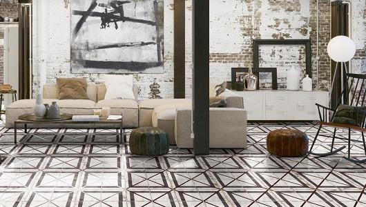 Cómo usar el azulejo hidráulico para un diseño ecléctico