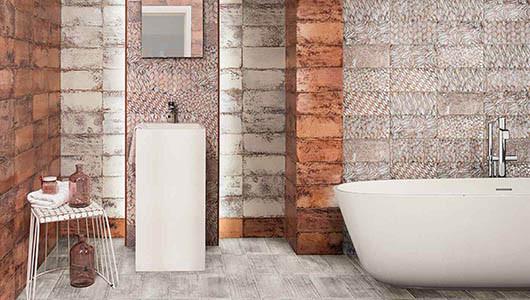 Revestimiento para baño original y elegante de diseño moderno