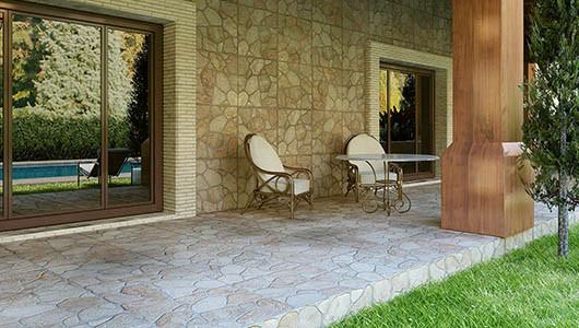 Azulejos imitación piedra para tus interiores y exteriores