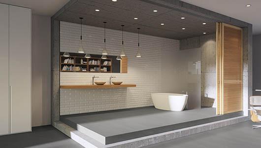 Las tendencias en revestimiento de paredes de baño